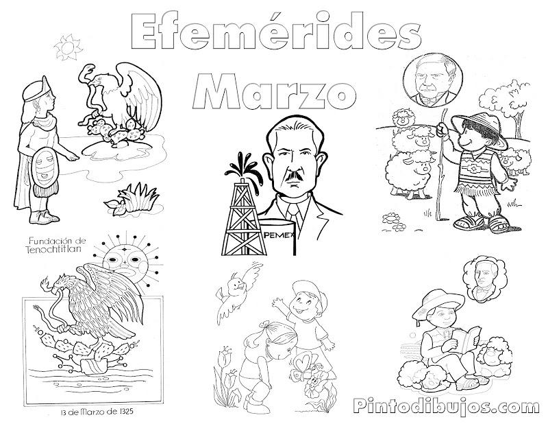 Dibujos Para Colorear De La Expropiacion Petrolera Imagui