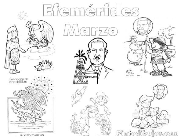 EFEMÉRIDES Y MATERIAL PARA EL MES DE MARZO | zona141camargotam